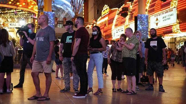 Pelanggaran Protokol Kesehatan Warnai Pembukaan Casino Di Las Vegas